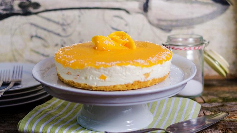 Solero-Torte ohne Backen