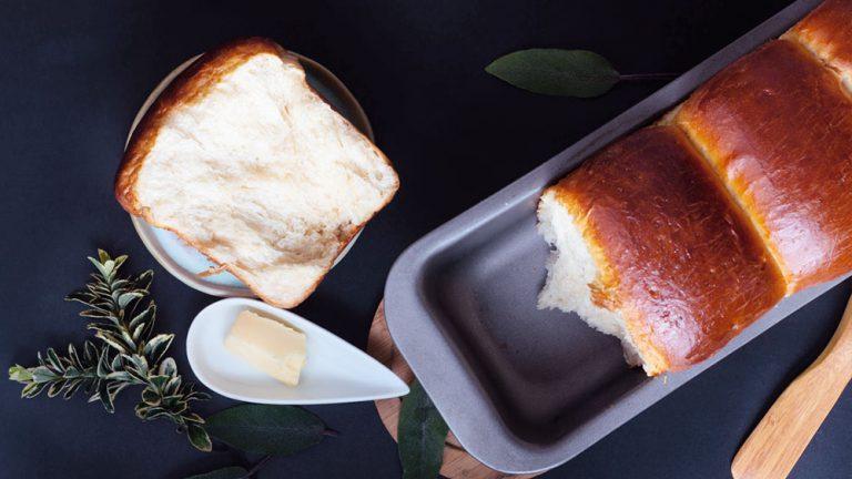 Fluffiges Tangzhong-Brot