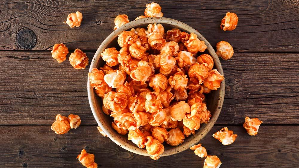 Popcorn mit Karamell & Zimt