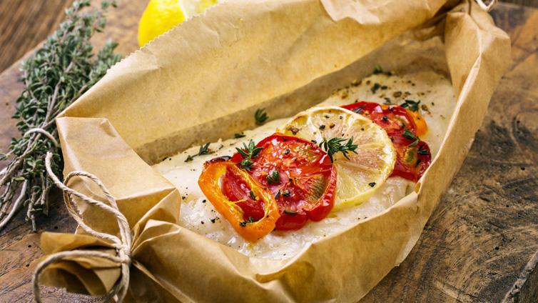 Päckchen aus dem Ofen | Kabeljau-Rezept für Anfänger